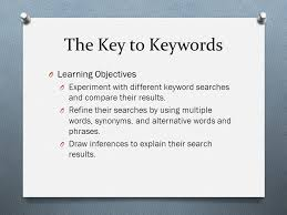 How to Employ Keyword of Multiple Words